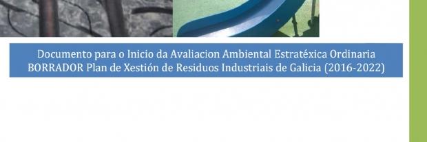 PUBLICADO EL BORRADOR DEL PLAN DE XESTION DE RESIDUOS INDUSTRIAIS DE GALICIA (2016-2022)