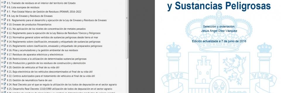 CODIGO ACTUALIZADO CON NORMATIVA DE RESIDUOS Y SUSTANCIAS PELIGROSAS