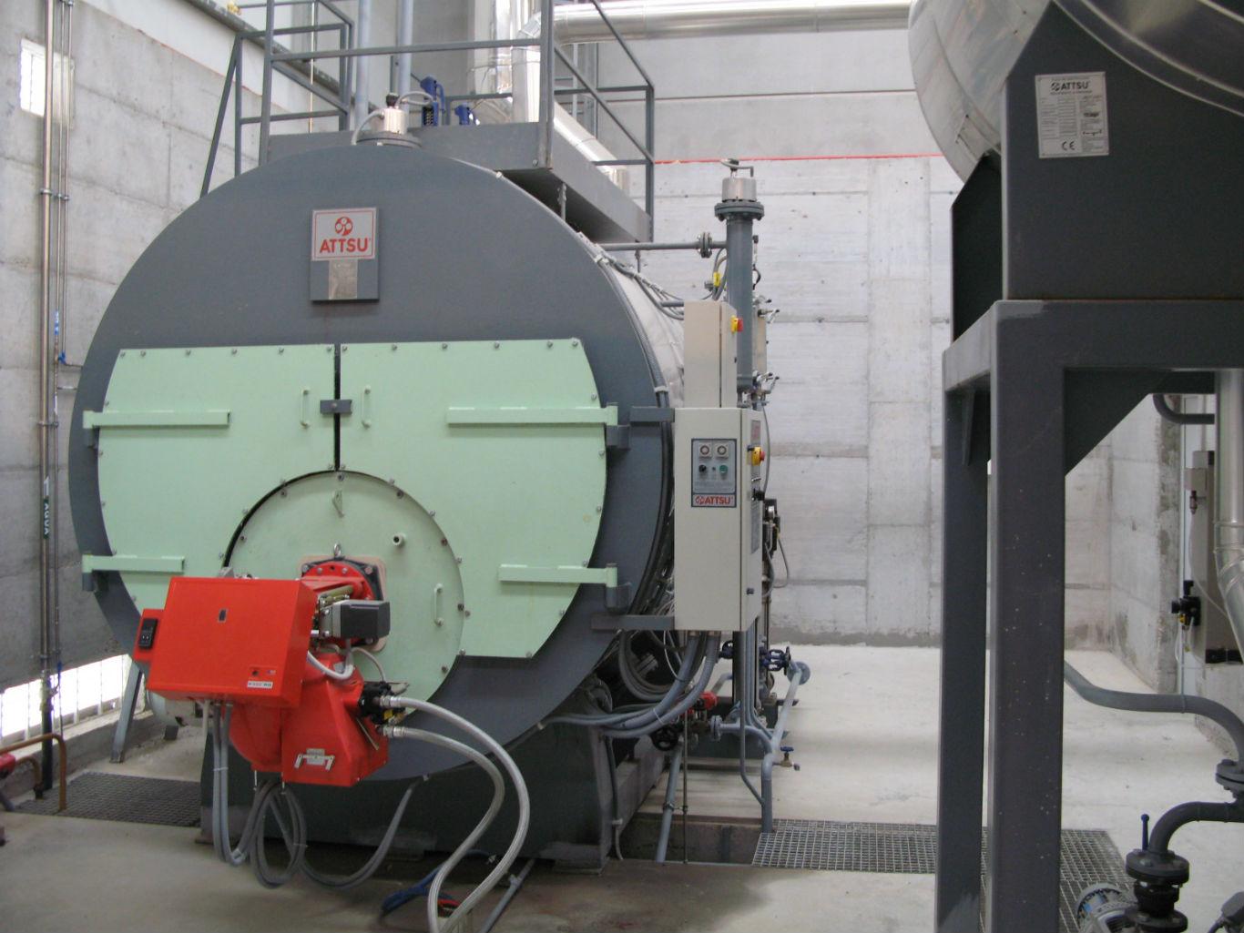 Calderas industriales. Proyectos y formación oficial a operadores