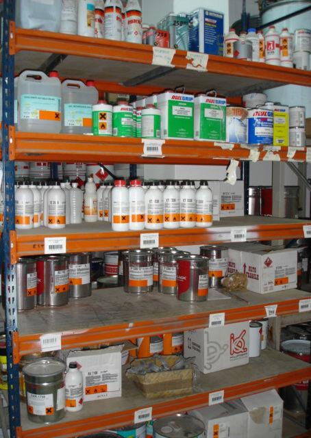 Almacenamiento y logística de sustancias y productos peligrosos