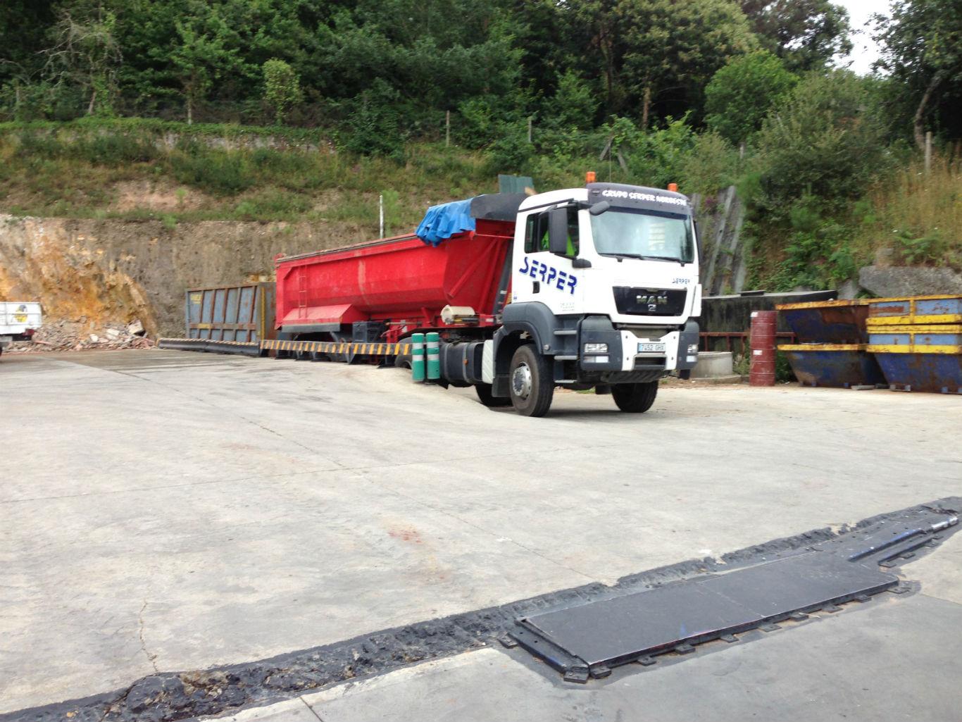 Transporte y logística de residuos