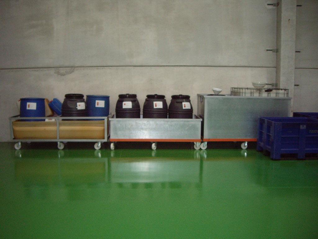 Almacenamiento de residuos peligrosos. Contenerización y etiquetado