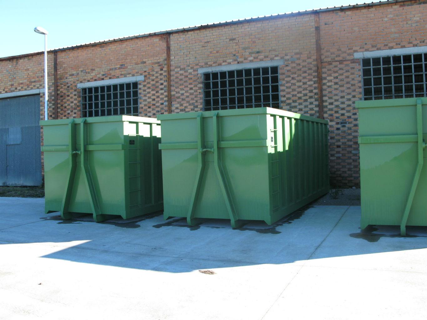 Contenerización y transporte de residuos